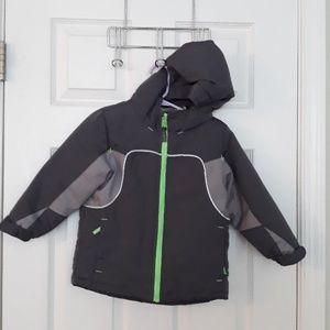 3T winter jacket,  fleece liner/inner jacket